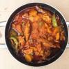 Smoked salmon stew