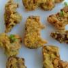 Crunchy fried gizzards