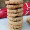 Spiced brown sugar cookies (biscuits)
